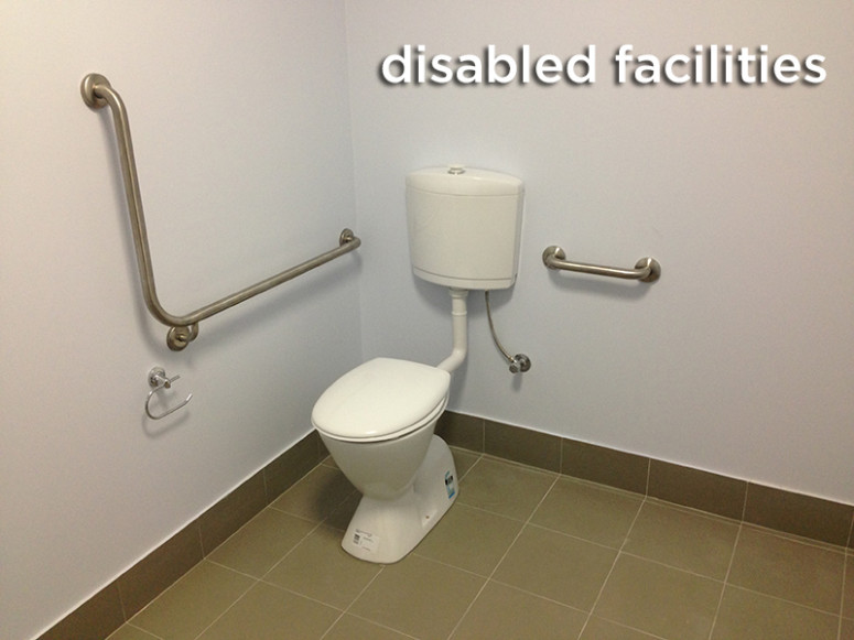 disabled toilet perth