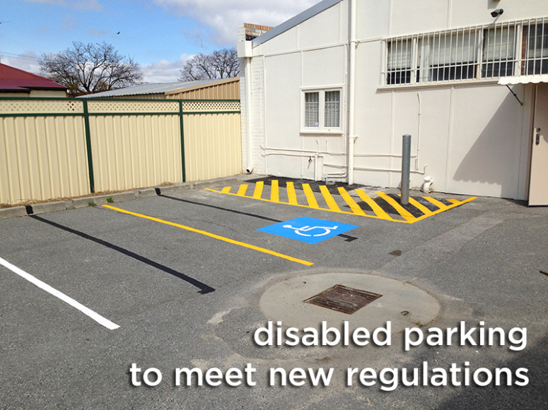 disabled parking perth