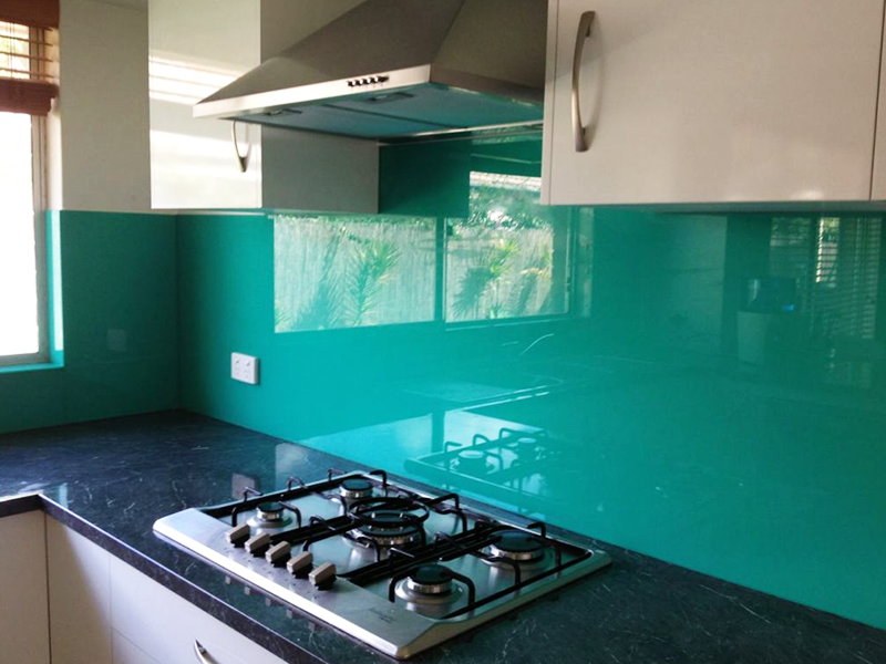 coloured splash back perth
