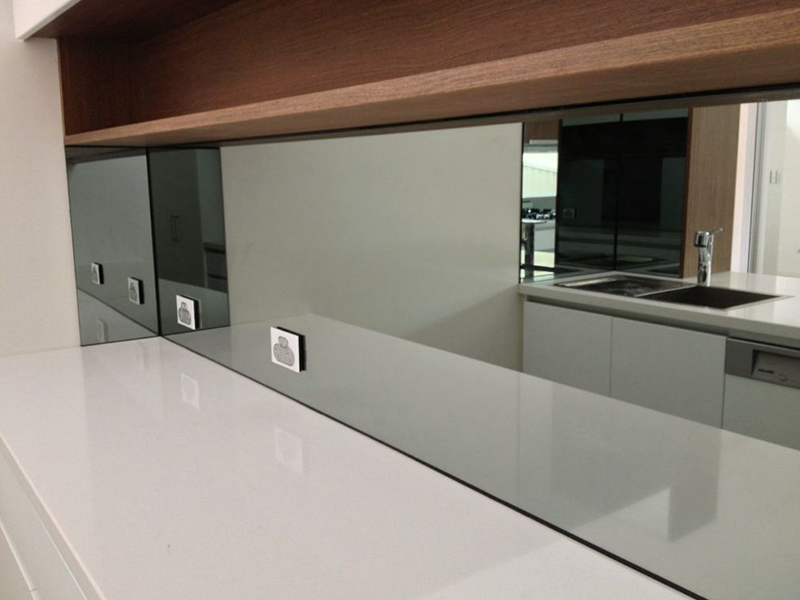 mirrored splash back perth